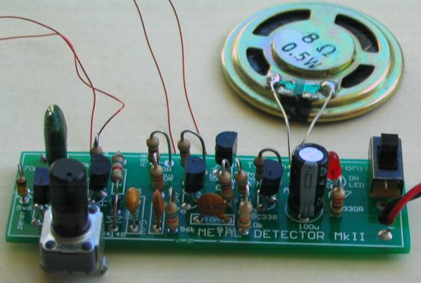 Simple Lie Detector Circuit Design Electronic Project