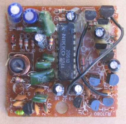 27mhz links the 27mhz receiver pc board