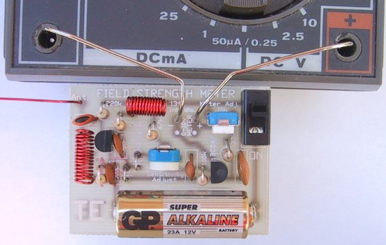 Field Strength Meter Kit : Pg n s ham radio site test equipment field strength meters
