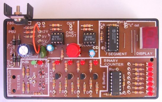 Electronics Circuits Circuit Diagram With Parts