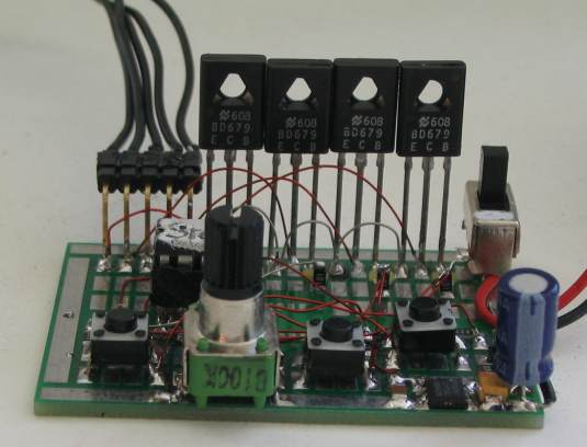 MINI PROJECT :: STEPPER MOTOR CONTROLLER USING PIC