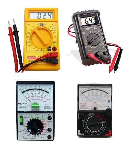 Electronic Component Tester : Testing electronic components