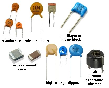 Testing ponents on reading capacitor markings